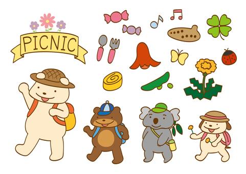Spring picnic set