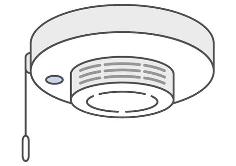 Fire alarm Smoke type 2_ color