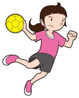 Handball Women's _ Shoot