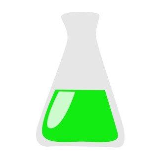 玻璃瓶綠色