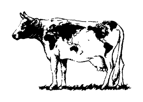 Cow World map