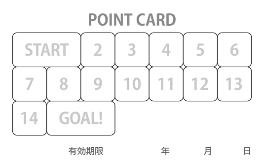 15 points card (85 × 54)