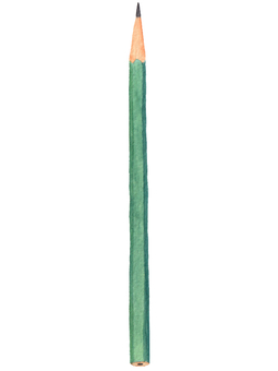 Pencil (watercolor illustration)