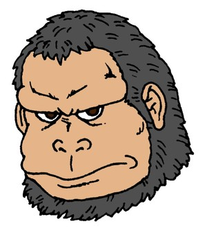 Ikemen gorilla (different colors)