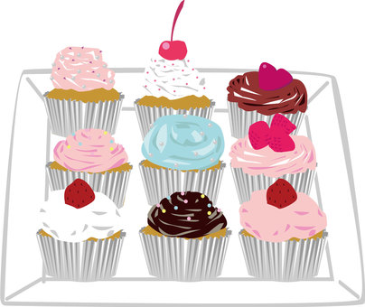 Cupcake _ Deco _ Suites _ Food 16
