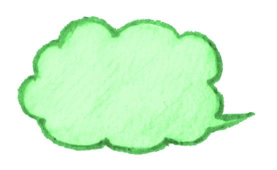 Balloon large green