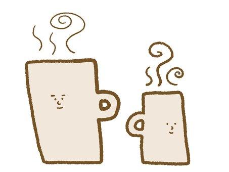 咖啡2人♪