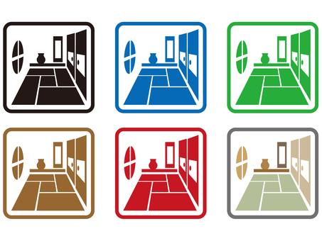 Japanese room icon