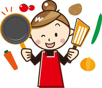 女性做飯_A78