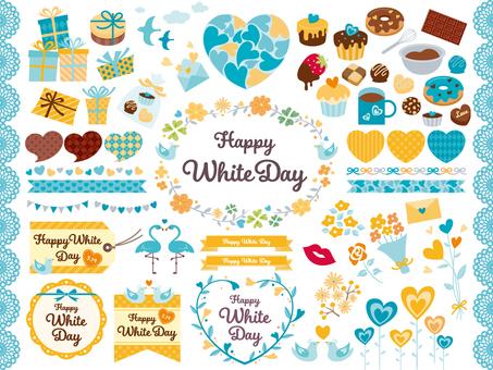 White Day Item Set