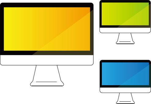 TV, desktop