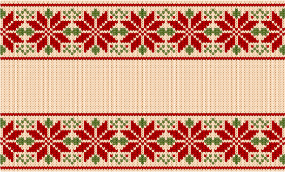Nordic style braided pattern (continuous pattern)