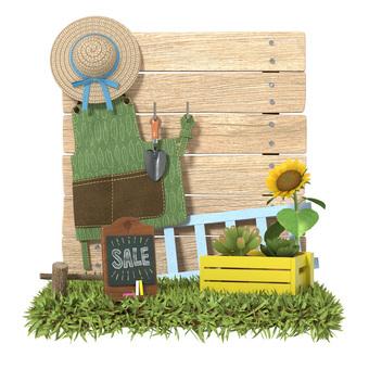 Miniature style gardening B
