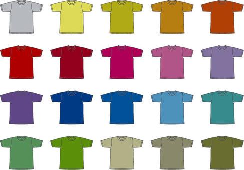 T-shirt thick color
