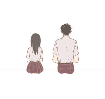 Sitting side by side 2