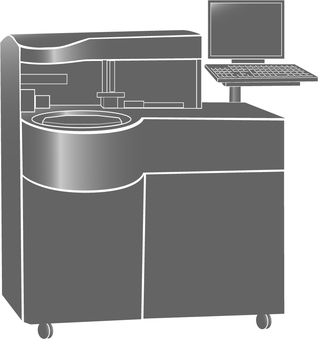 Medical inspection machine
