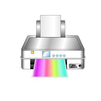 Printer (silver)