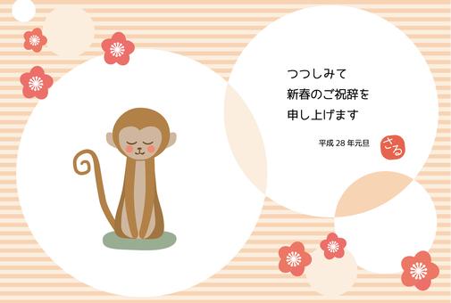 원숭이의 인사 (쪽글 포함)