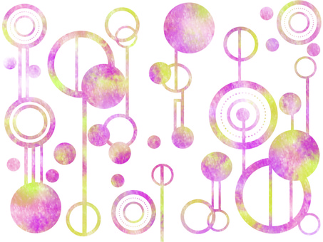 Background watercolor pattern