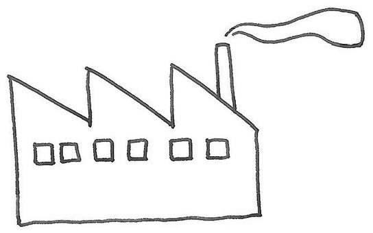 Factory smoke factory