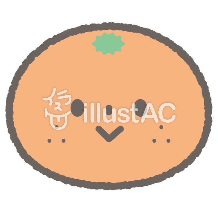 かわいい果物フルーツみかんイラスト No 無料イラストなら イラストac