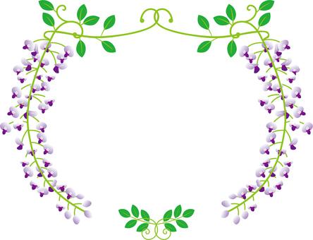 Wisteria frame _ lavender
