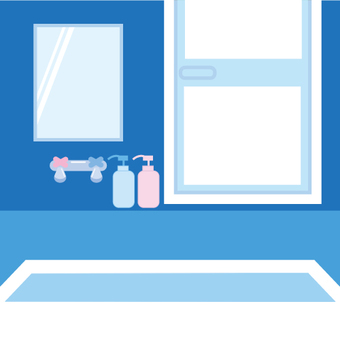 Cold bathroom image