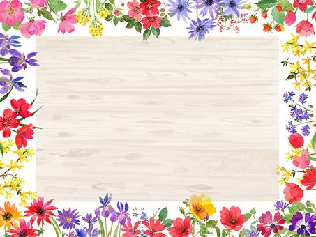 꽃, 꽃 프레임