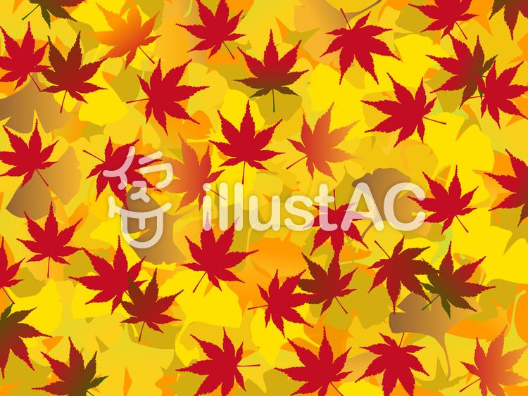 秋の紅葉 背景 もみじ 紅葉イラスト No 624479無料イラストなら