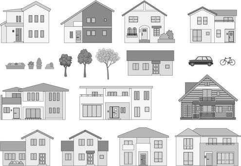 房子1灰色