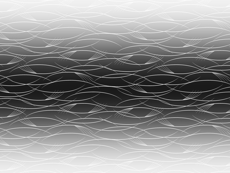 Silver's silky pattern background on black background