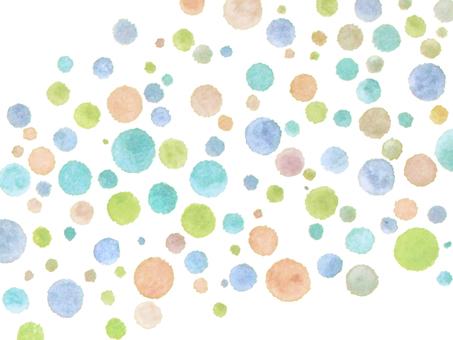 手拉的圓點牆紙圖像光點圖形背景材料。