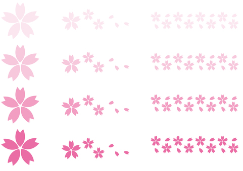 Sakura's parts set