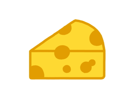 Perforated cheese
