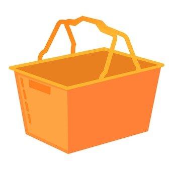 Shopping cart (Orange)