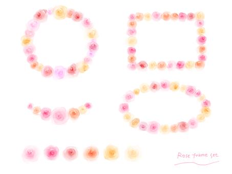 Rose frame set