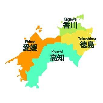 Prefecture of Shikoku