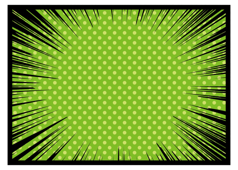 Concentrated line_ green dot