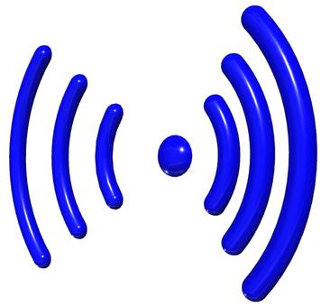 電波マーク