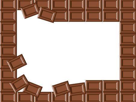 Chocolate frame 2