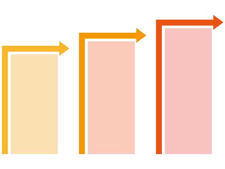 Chart (Arrow / Orange)