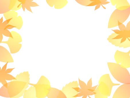 낙엽 프레임 1