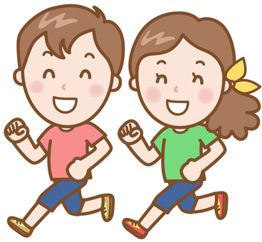 Jogging: Male & female