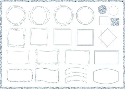 Silver frame set