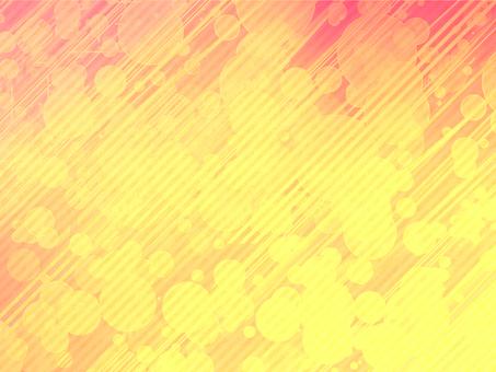 Burning polka dots / background