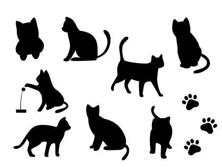 Cat Cat silhouette