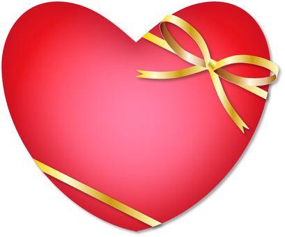 Ribboned Heart
