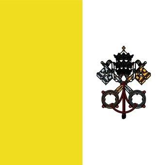 梵蒂岡國旗