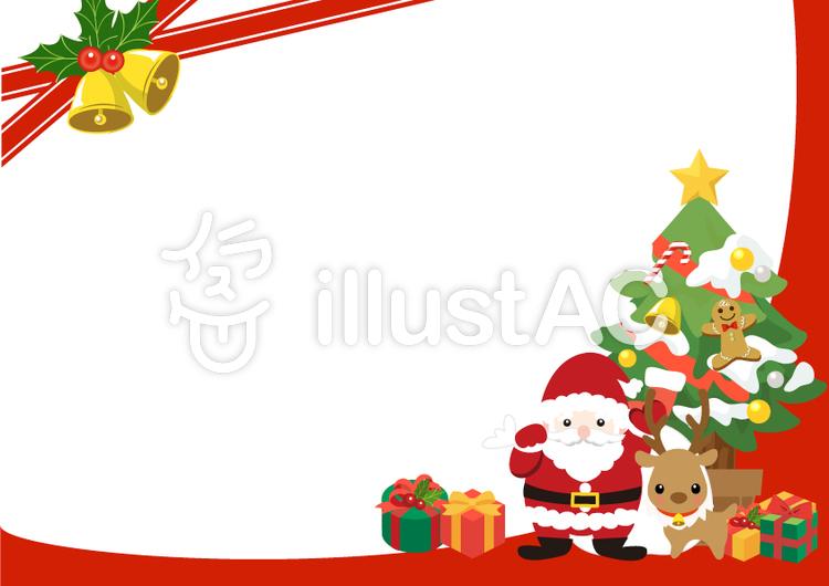 クリスマスカードイラスト No 946399無料イラストならイラストac
