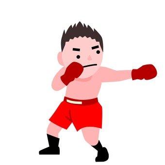 권투 남성
